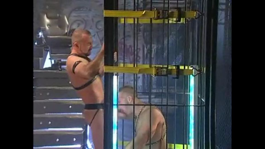 Dungeon Caged Slave Used and Owned, starring Josh West and Paul Wagner, produced by Hot House Entertainment and Falcon Studios Group. Video Categories: Fetish, Bear, Leather, Blowjob and BDSM.