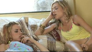 Lesbian Encounter With Lexi Belle & Nicole Ray.