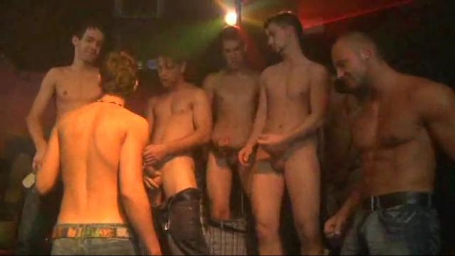 Total Freedom Twink Gay Dance Club Orgy  Gay  Pornotube-7836