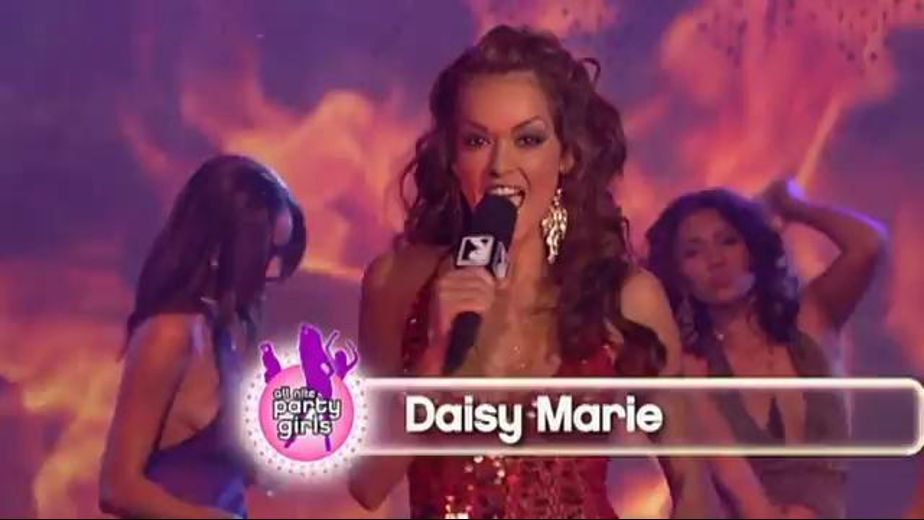 Party  All Night With Daisy Marie, produced by Playboy. Video Categories: Gonzo.