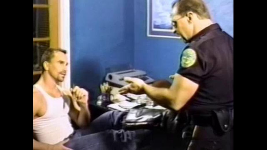 Cop Hassles Slacker at the Tax Office, starring Erik Ludwig and Trenton Comeaux, produced by BiCoastal. Video Categories: Fetish and Blowjob.