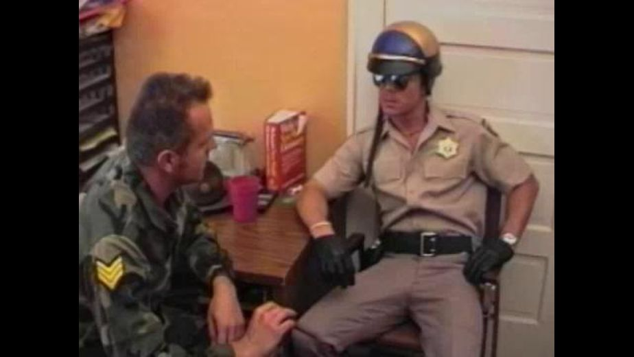 Motorcycle Cop Needs Favor From the Army, produced by BiCoastal. Video Categories: Blowjob, Military and Fetish.