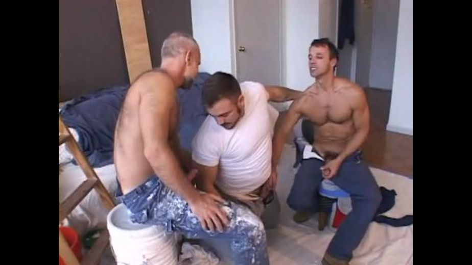 The Plumber Interrupts the Workmen, starring Allen Silver, Mick Powers and Rodney Steele, produced by Dragon Media. Video Categories: Bear, Blowjob, Threeway, Muscles and Mature.