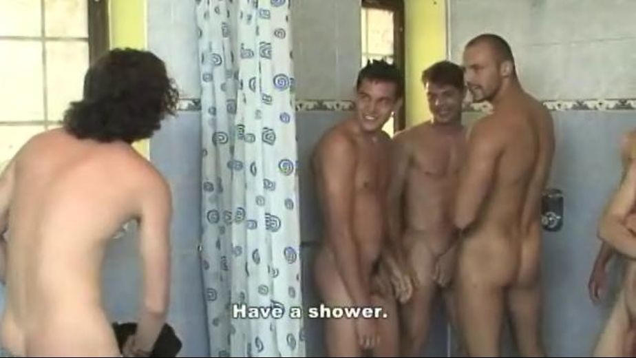 Water Is Fine in Gangbang Shower, starring Marco Filipi, Tomas Mark, Zack Hood and Dennis Wesley, produced by Staxus. Video Categories: College Guys, GangBang, Masturbation, Euro, Anal, Orgies, Bareback and Uncut.
