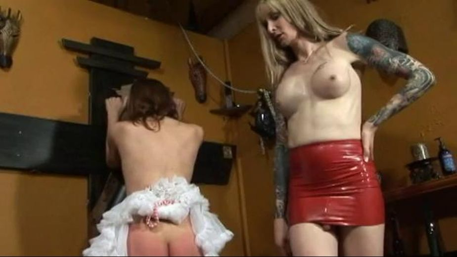 Ass Whipping by Shemale Mistress Jeannine, starring Mistress Jeannine (o) and Janet (o), produced by Fatal Femdom Movies. Video Categories: Fetish, Blondes, Transgender and BDSM.