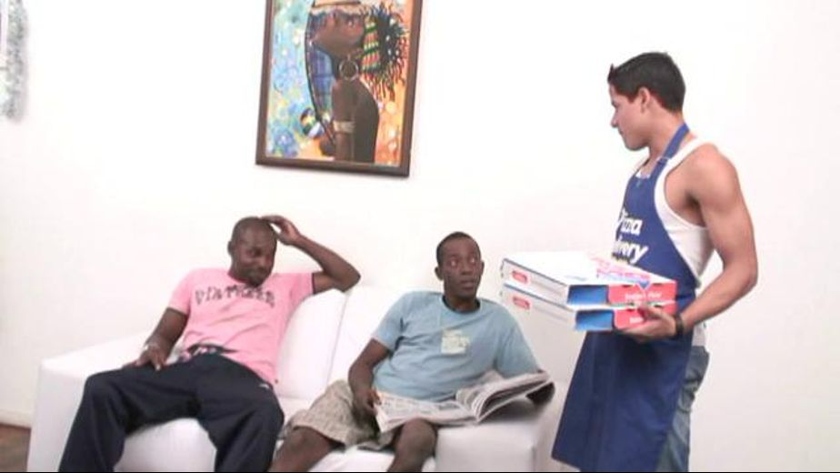 Latino Pizza Boy Gets Extra Topping, starring Martino Paiva, produced by Alexander Pictures. Video Categories: Interracial, Latin, Threeway, Black and Big Dick.