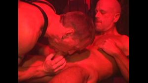 Will West In The Dungeon Bareback Party.