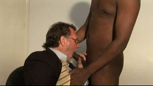 Daddy Goes For Black Cock.