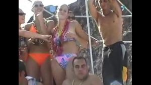 Nonstop Naked Titty and Pussy Boat Party.