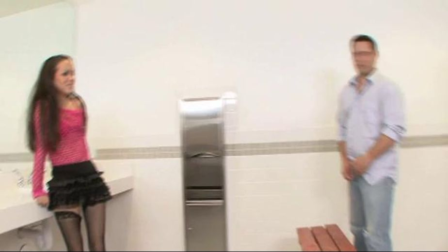 Asian Girl in Men's Room, starring Amai Liu, produced by Hustler. Video Categories: Threeway, Interracial, Asian, Blowjob and Gonzo.