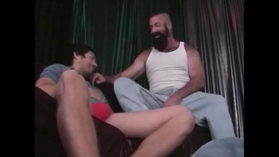 Big Hairy Bear With a Long Black Beard, starring Brad Slater and Rick Cox, produced by Eagle Video. Video Categories: Euro, Blowjob, Muscles and Bear.