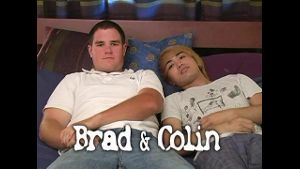 Big Brad With a Hairy Chest and Cutie Colin.