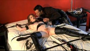 Helpless Slave Nikki Rhodes Loves It.