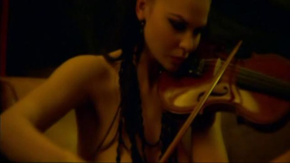 Vampire Chicks Serenade And Seduce With Violin, produced by Vicious Circle Films and Breaking Glass Pictures. Video Categories: Lesbian.