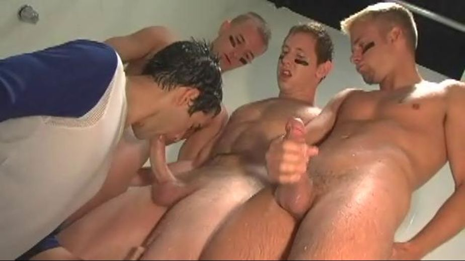 Bump And Grind That Wet Ass, starring Johnny Hazzard, Vance Winter, Cameron Marshall, Cameron Adams, Ryan Driller, Josh Griffin, Mitchell Rock and Spencer Whitman, produced by All Worlds Video and Channel 1 Releasing. Video Categories: GangBang, Jocks, Muscles and Safe Sex.