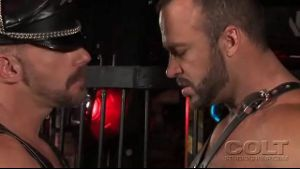 Leather Men Samuel Colt and Nate Karlton.