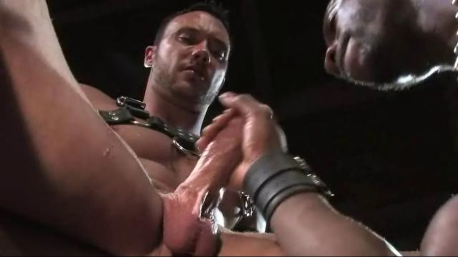 The Master is the Owner, starring Jason Adonis and Race Cooper, produced by Raging Stallion Studios and Falcon Studios Group. Video Categories: Leather, Muscles, Big Dick, Fetish, Interracial, Masturbation and Blowjob.