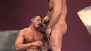 Muscle Men Angelo Marconi and Samuel Colt.