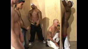 White Guys Man the Glory Hole.