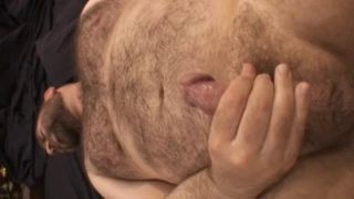 Daddy Bear John X Body Hair Fetish: Hairy Chest, Armpits And Fuzzy Face - Scene 6