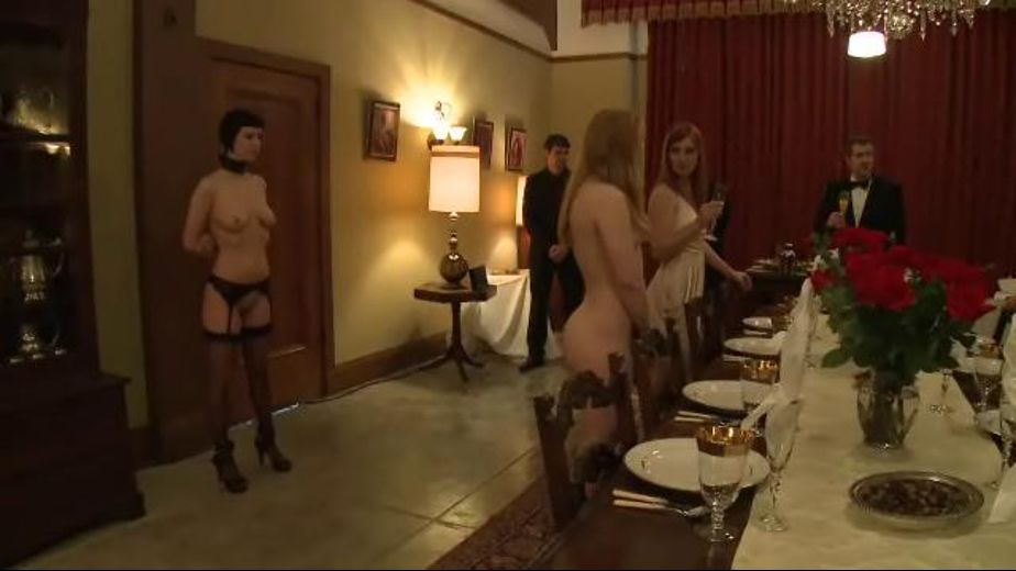 Submissive Brunch, starring Winter Sky, Cherry Torn and Sarah Shevon, produced by Kink. Video Categories: BDSM and Fetish.