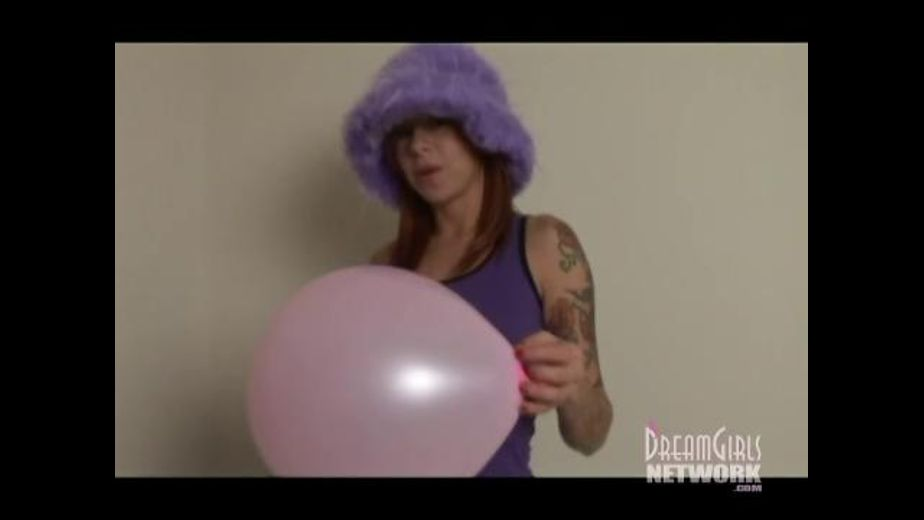 Scarlett Pain wants to Pop Your Balloon, produced by Dream Girls. Video Categories: Fetish and Gonzo.