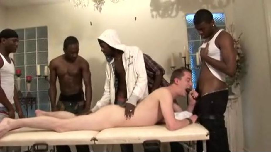 Lewd Gay Guys Interracial Banging