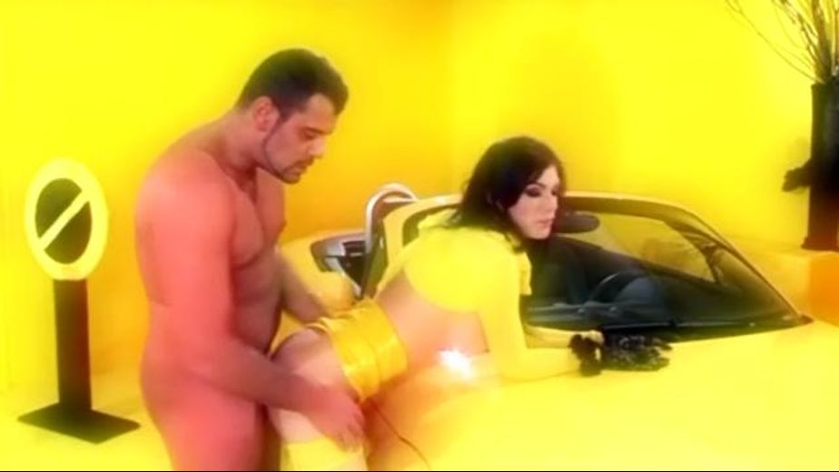 Ass Assassination in Yellow, starring Roxy Panther, produced by Daring Media. Video Categories: Brunettes, Blowjob and Anal.