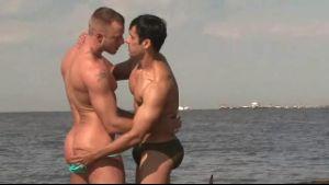Rafael Alencar Takes Off Jessie Colter's Speedo.
