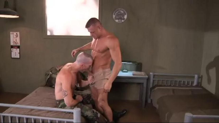 Chest Appeal in the Armed Services, starring Tyler Saint and James Aaron, produced by Club Inferno, Falcon Studios Group and Hot House Entertainment. Video Categories: Masturbation, Military, Muscles and Blowjob.