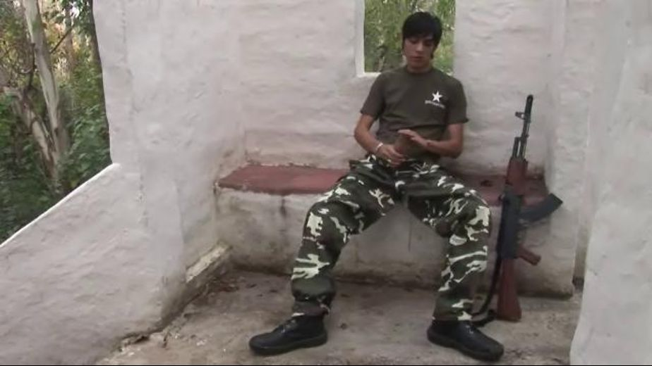 Spanish Soldier Takes a Compliant Prisoner, starring Marcel Bimore. Video Categories: Masturbation, Latin, Military and Blowjob.