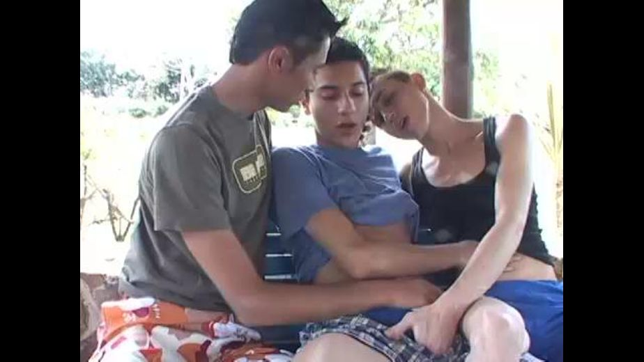 Hot Latino Twinks on the Porch on a Hot Day, produced by OTB Video. Video Categories: Euro, Bareback and College Guys.