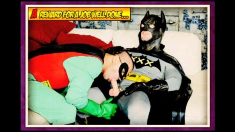 Batman And the Boy Wonder VS Rule 34, starring Dominic Pacifico and Mitch Vaughn, produced by Pleasure Productions and Manville Entertainment. Video Categories: Fetish, Blowjob and Muscles.