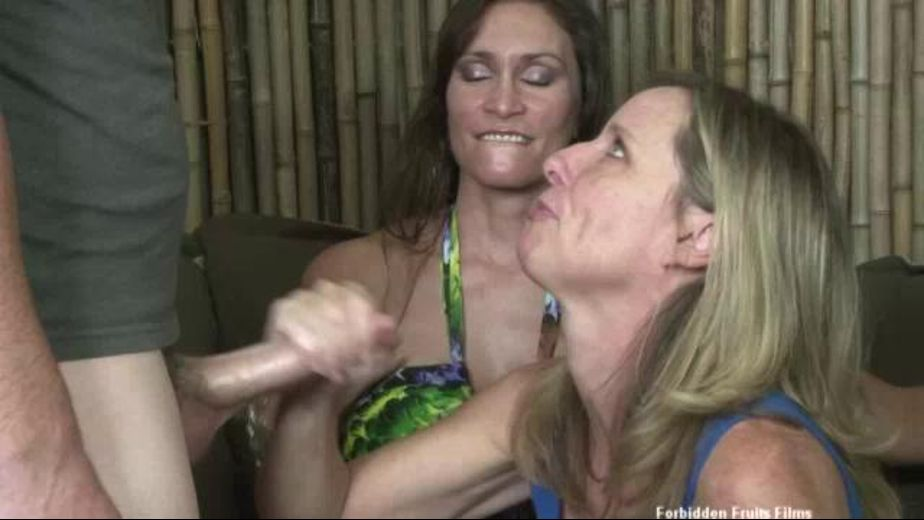 Are You Getting a Boner for Your Stepmom?, starring Jodi West and Raven LeChance, produced by Forbidden Fruits Films. Video Categories: Blondes, Masturbation, Big Tits, Older/Younger, Mature and MILF.