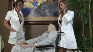 Handjob Therapy By Nurses.