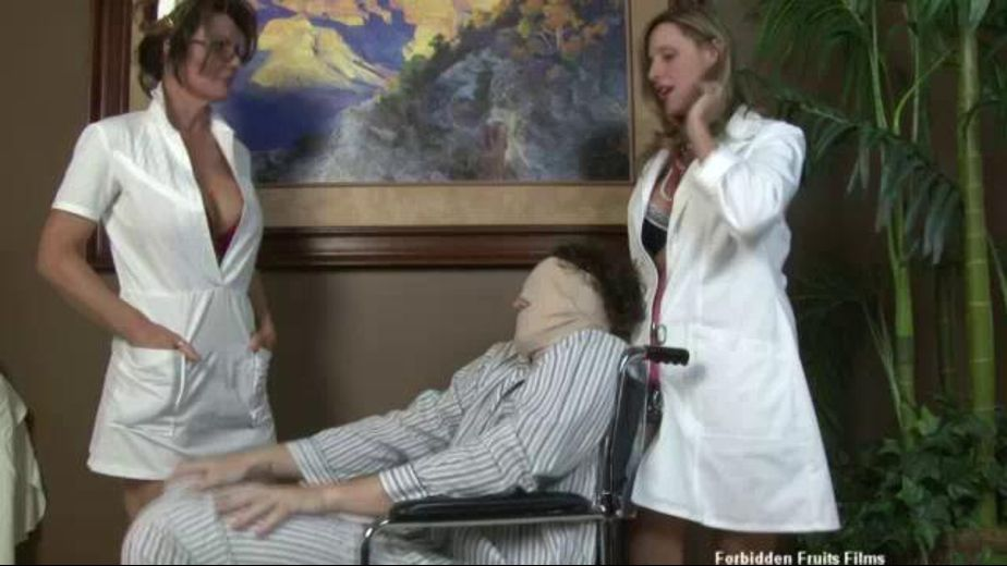 Handjob Therapy By Nurses, starring Deauxma and Jodi West, produced by Forbidden Fruits Films. Video Categories: Big Tits, Amateur, MILF and Mature.