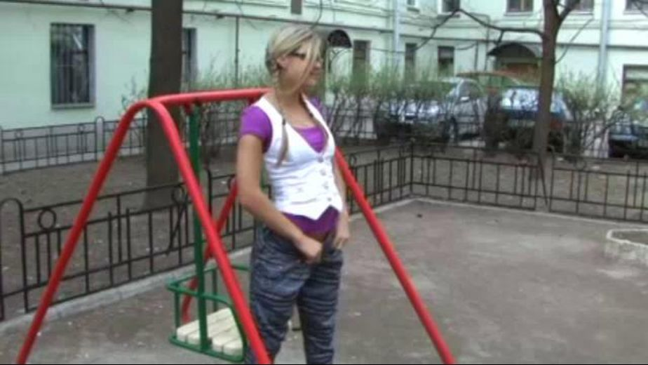 A Blonde's Risky Public Sex, starring Kira, produced by Homegrown Video. Video Categories: Amateur, Gonzo, Blowjob and Blondes.