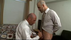 Concierge Adam Russo Seduces George Spelvin.