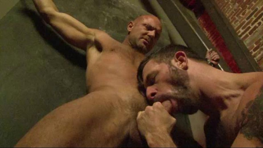 He Has Been Dealt The Raw End, starring Nick Moretti and Morgan Black, produced by Factory Video Productions and Raw Edge Video. Video Categories: Big Dick, BDSM, Fetish and Muscles.