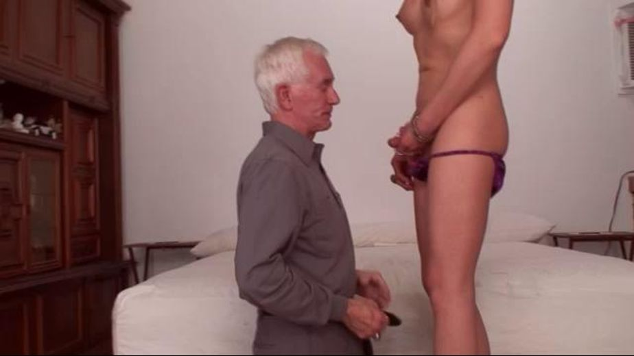 Old White Haired Perv Gets Right to Work on Asian Tranny, starring Carl Hubay and Estrea Jen, produced by Hot Shemales Video. Video Categories: Transgender, Asian, Interracial and Amateur.