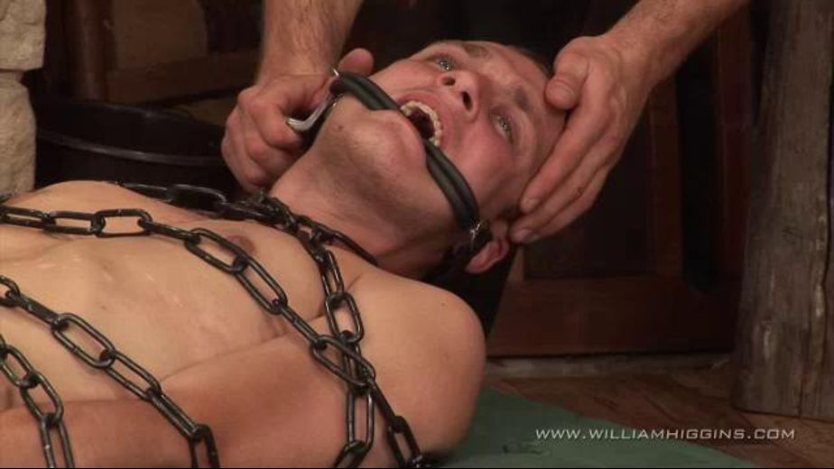 Bound to Find Out If There's Pleasure In Agony, produced by William Higgins. Video Categories: Leather, Euro, Fetish and BDSM.