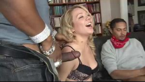 Black On Blonde Gangbang Volunteer.