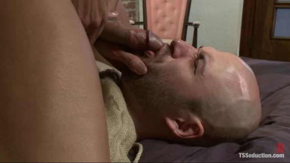 Trannie Turns the Tables on Intruder, starring Yasmin Lee and David Chase, produced by Kink. Video Categories: BDSM, Blowjob, Fetish, Interracial and Transgender.