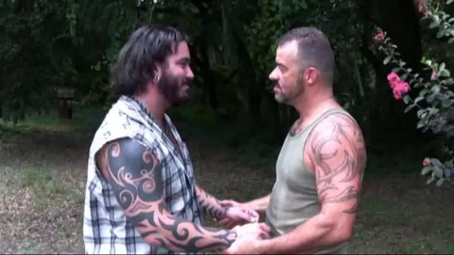 When Bears Meet in the Woods the Sky Opens Up, starring Steve King and Rock Ramsey, produced by Bear Films. Video Categories: Blowjob and Bear.