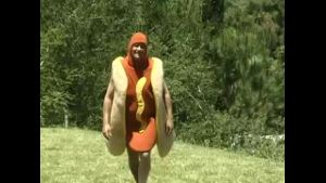 Lady i am NOT a hotdog !!!.