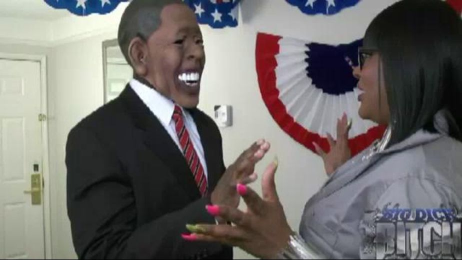 Obama gets thank you BJ from LGBT community rep, starring The Big Dick Bitch, produced by Raw Dawgg Entertainment. Video Categories: WTF, Amateur, Black, Big Dick, Transgender and Gonzo.