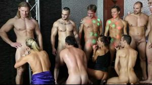 Bi Sex Orgy Party Is Heating Up.