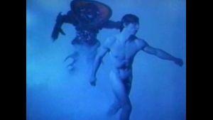 A Blue Dream Of Alien Body.
