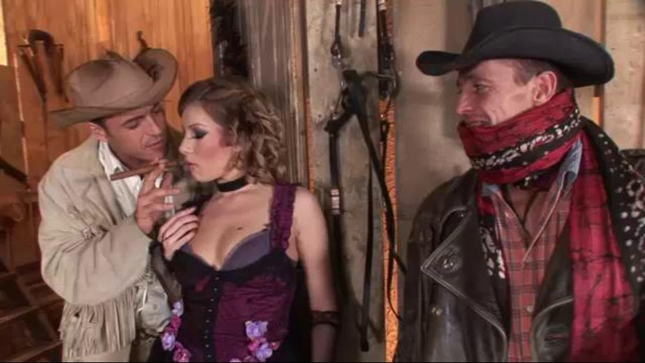 A Dance Hall Girl andTwo Cattlemen in a Barn, starring Dona Bell, produced by DDF Production Ltd. Video Categories: GangBang, Blowjob, Fetish and Threeway.