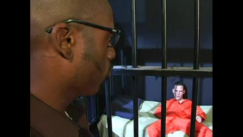 The Black Prison Guard and the White Inmate, starring Chad Thomas and Randy Gunz, produced by Catalina and Channel 1 Releasing. Video Categories: Muscles, Blowjob, Fetish, Uncut and Interracial.
